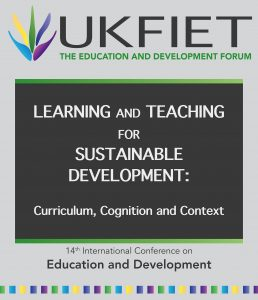 Learning and Teaching for Sustainable Development