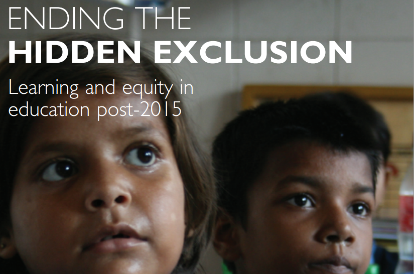 Discussion of Hidden Exclusion in Education