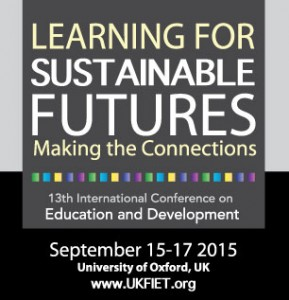 UKFIET Conference - 13th annual - Oxford