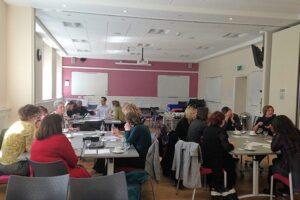 Working groups at Scottish Resource Meeting