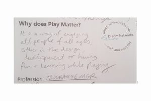 Why does play matter