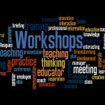 Word cloud for workshops