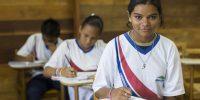 Pupils study at a school near Manaus, Amazonas Brazil  Credit: GEM Report / Andres Pascoe