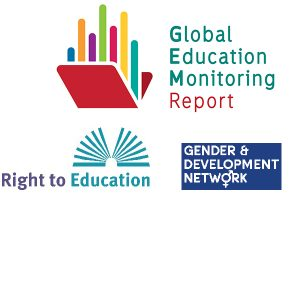 GEMR, Right to Education and Gender and Development Network logos