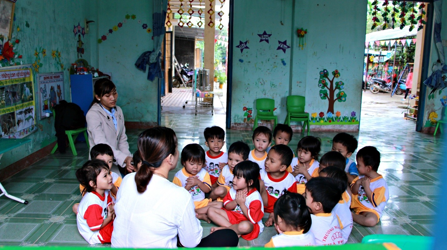 Pre-schools in Vietnam: innovative approach for better learning and participating