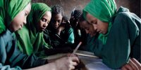 DFID is committed to get more girls into school and improve their lives through education. Picture: Gary Calaf/Save the Children Fund.