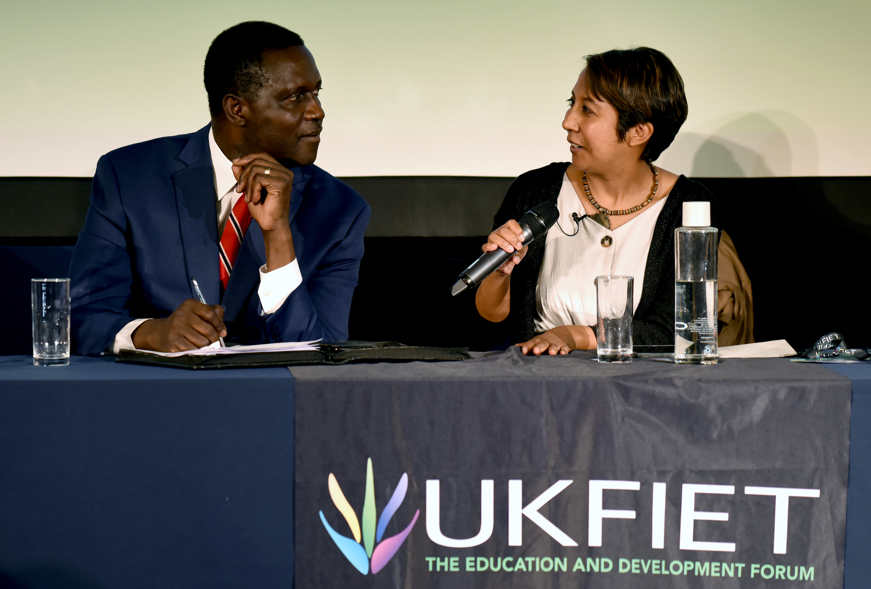 Photo Highlights from UKFIET 2019 Conference Part 1 – Sessions, stands and art exhibition