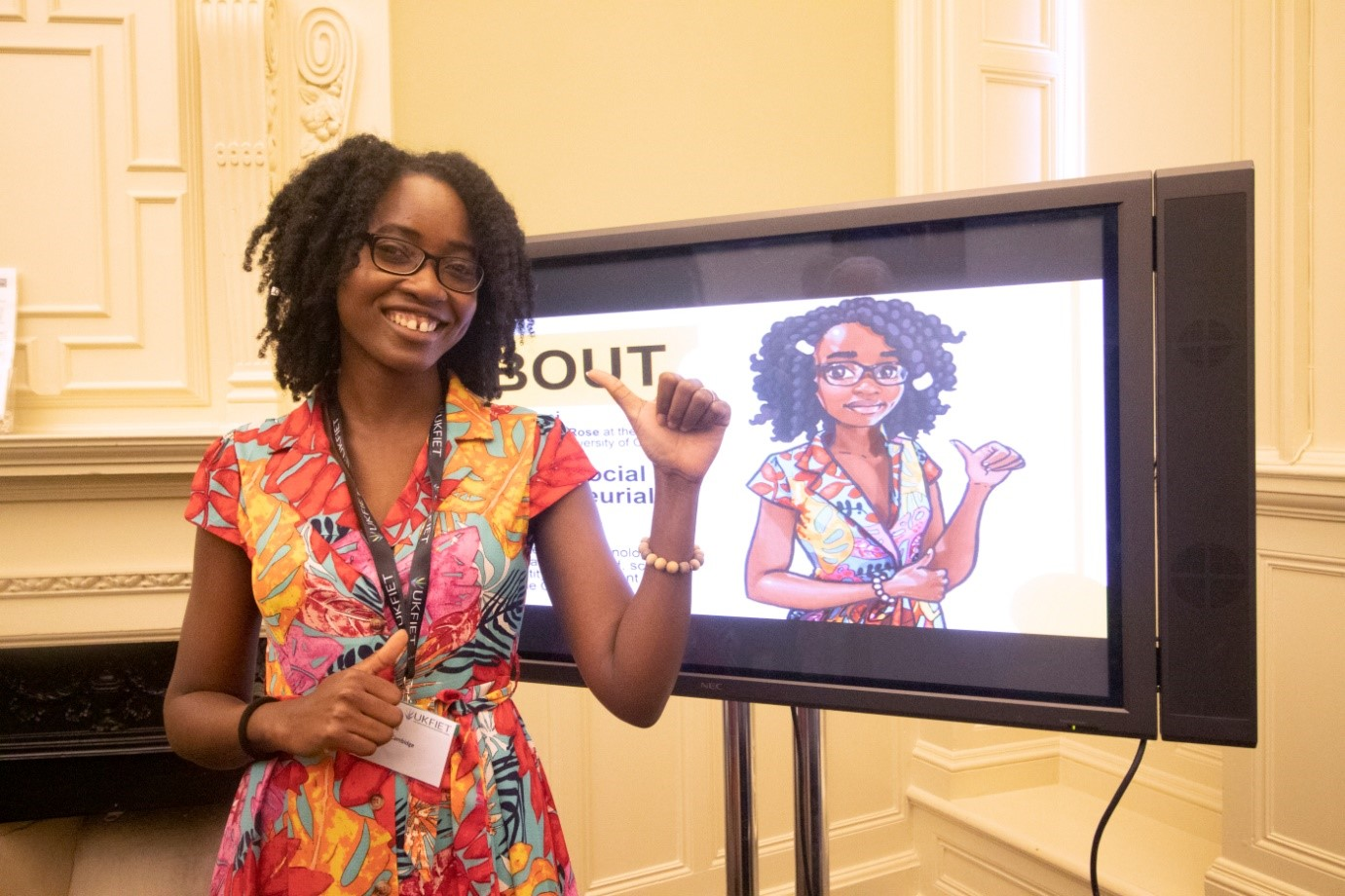 REAL at UKFIET: Reflections from Kalifa Damani of her conference experience