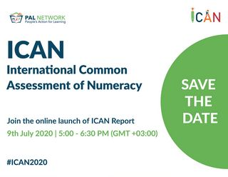 Global e-launch of PAL Network's International Common Assessment of Numeracy Report