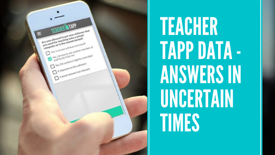Teacher Tapp data – answers in uncertain times