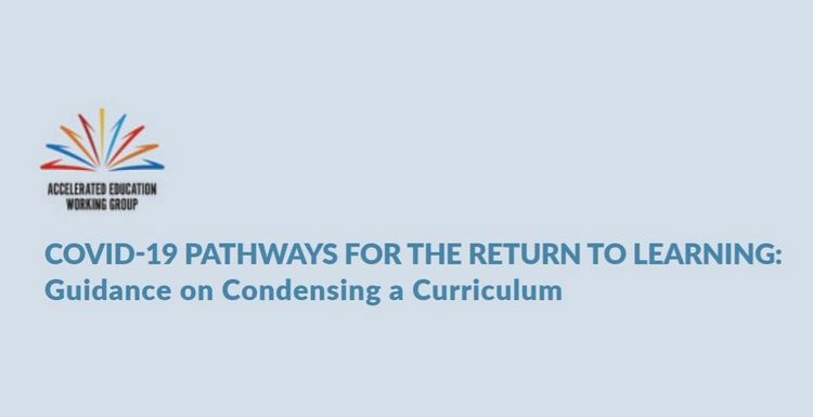 WEBINAR – Catching Up on Lost Learning, Part 2: Condensing a Curriculum in Response to COVID-19