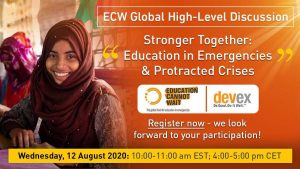 Stronger together: Education in emergencies & protracted crises