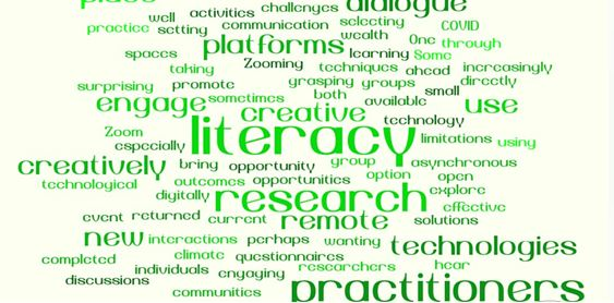 Zooming ahead creatively: enhancing literacy practice and research