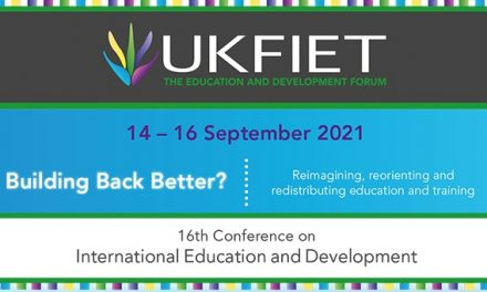 UKFIET Conference 2021 Building Back Better? Reimagining, reorienting and redistributing education and training 14-16 September