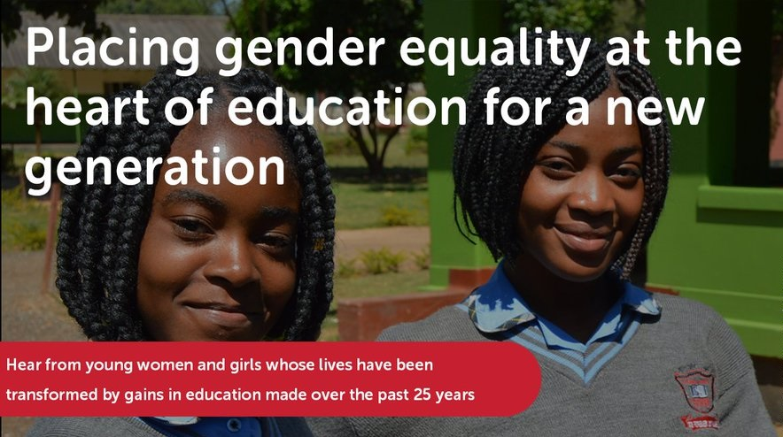 Webinar on gender equality and launch of two new reports by GEM Report team