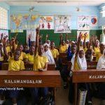 Primary Seven class in Tanzania