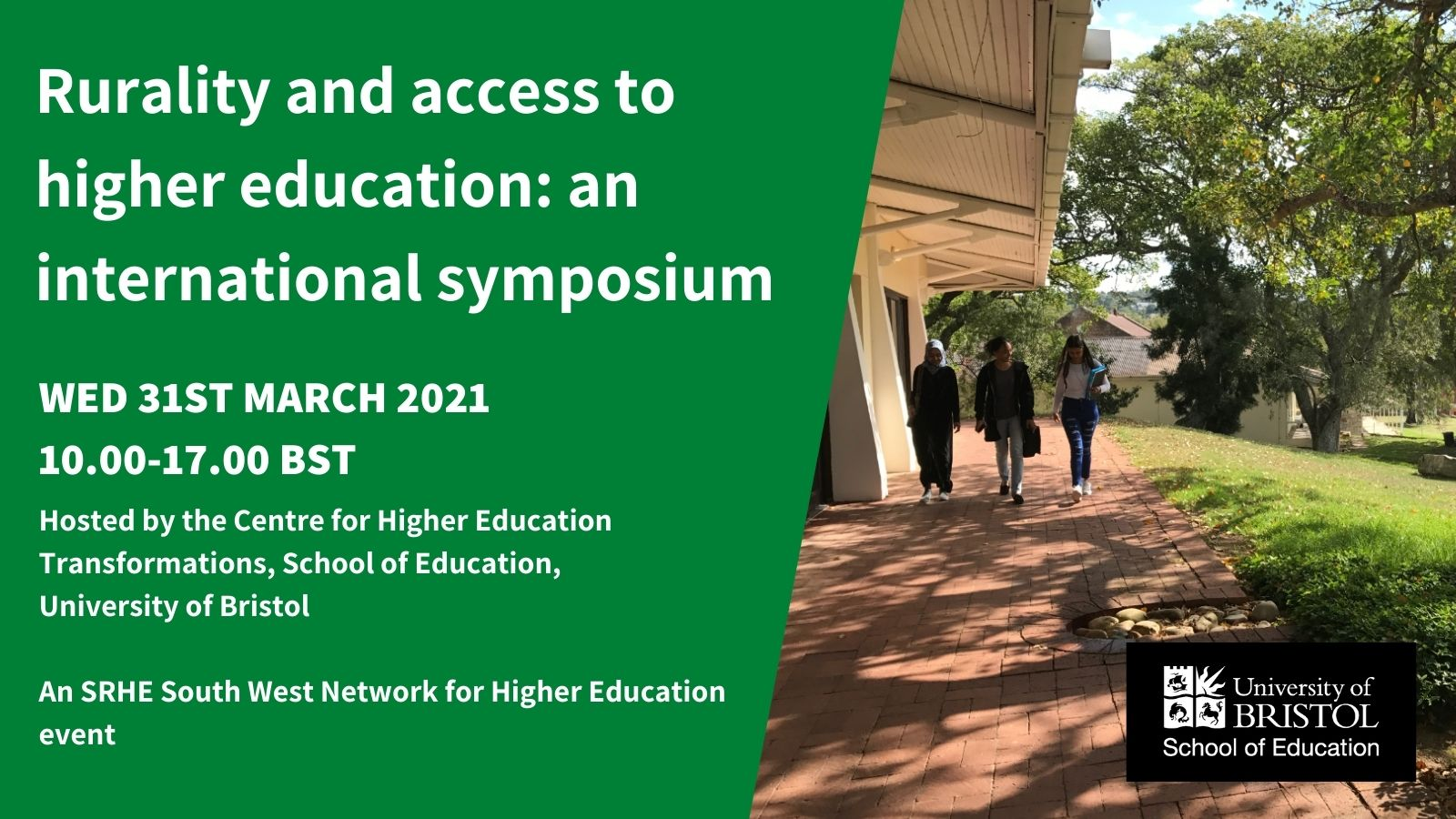 Rurality and access to higher education: an international symposium