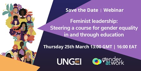Feminist leadership: Steering a course for gender equality in and through education