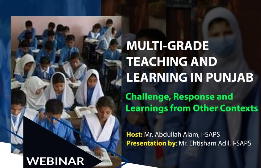 MULTI-GRADE TEACHING AND LEARNING IN PUNJAB: Challenge, Response and Learnings from Other Contexts