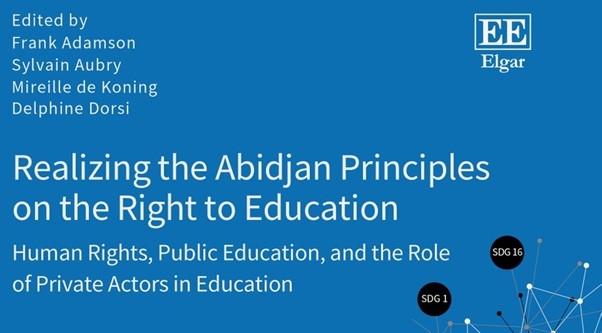 Book Launch – Realizing the Abidjan Principles on the Right to Education: Human Rights, Public Education, and the Role of Private Actors in Education