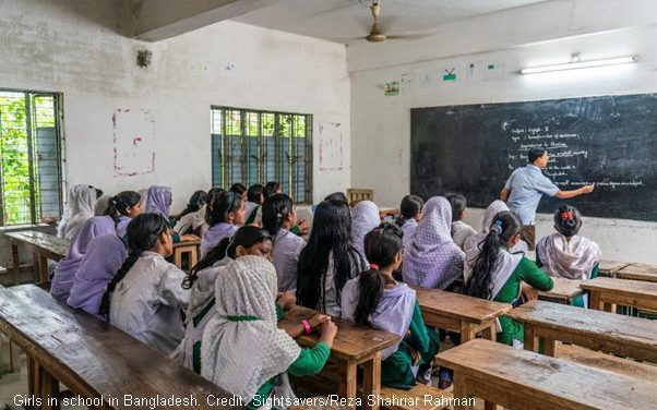 No girl with disabilities should be denied the right to education