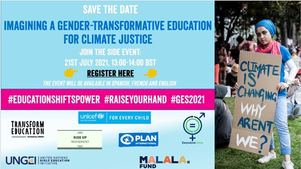 Imagining a Gender-Transformative Education for Climate Justice