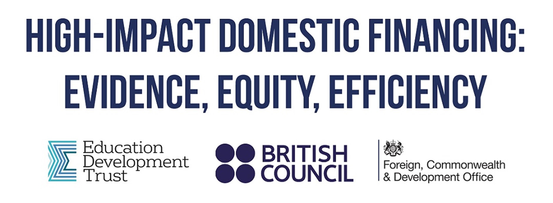 High-Impact Domestic Financing: Evidence, Equity, Efficiency