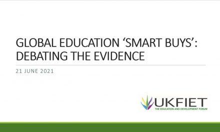 "Global Education ""Smart Buys"" Debating the Evidence"