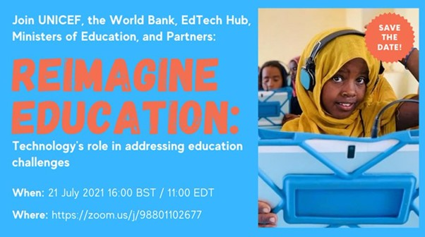 Reimagine Education: Technology's role in addressing education challenges