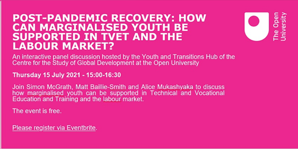 How can youth be supported in vocational education and the labour market?