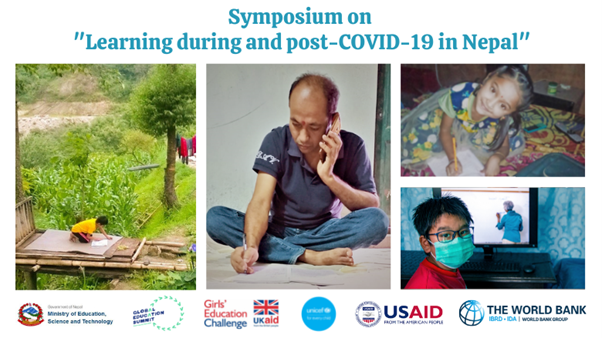 """Symposium on """"Learning during and post-COVID-19 in Nepal"""""""