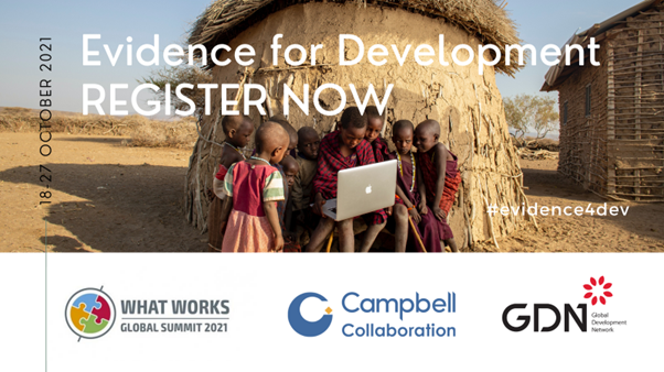 Evidence for Development: What Works Global Summit