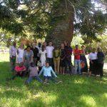 VET Africa 4.0 team under a tree at Rhodes University 2019