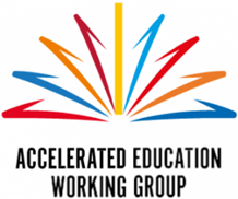 Accelerated Education Working Group logo