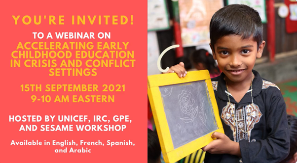 Accelerating Early Childhood Education in Crisis and Conflict Settings