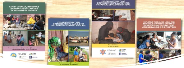 A selection of Country Reports, Family Literacy Project