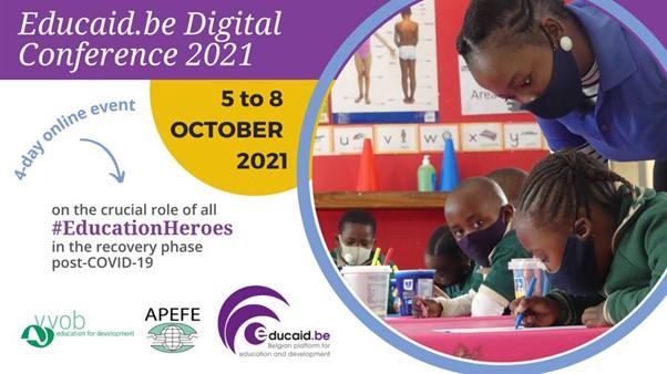 #EducationHeroes: Educaid.be Digital Conference 2021