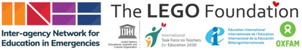 INEE and Lego Foundation logos