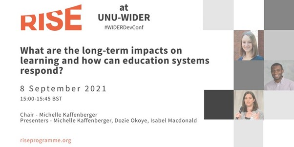 What are the long-term impacts on learning & how can education systems respond?
