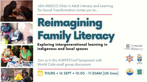 Family literacy and indigenous learning 'reimagined' within international development policy and practice