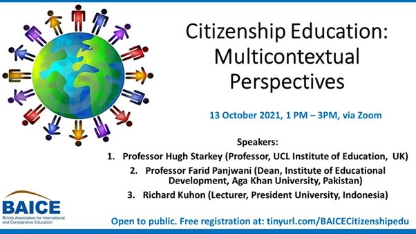 BAICE Students Roundtable on Citizenship Education: Multicontextual Perspectives