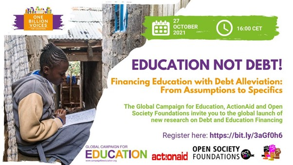 Education Not Debt! Financing Education with debt alleviation, from assumptions to specifics