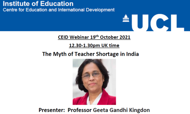 The Myth of Teacher Shortage in India