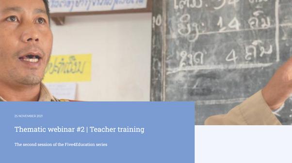 Five4Education -  Teacher Training