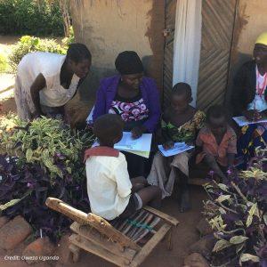Adult volunteers assess children's reading